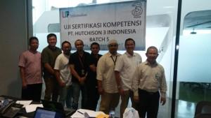 Uji Sertifikasi Kompetensi PT. Hutchison 3 Indonesia Batch 5